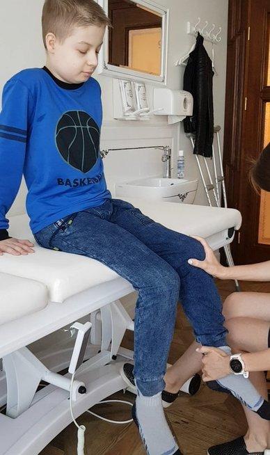 12-metį Devidą sustabdė vėžys: baisią ligą išdavė kojos skausmas