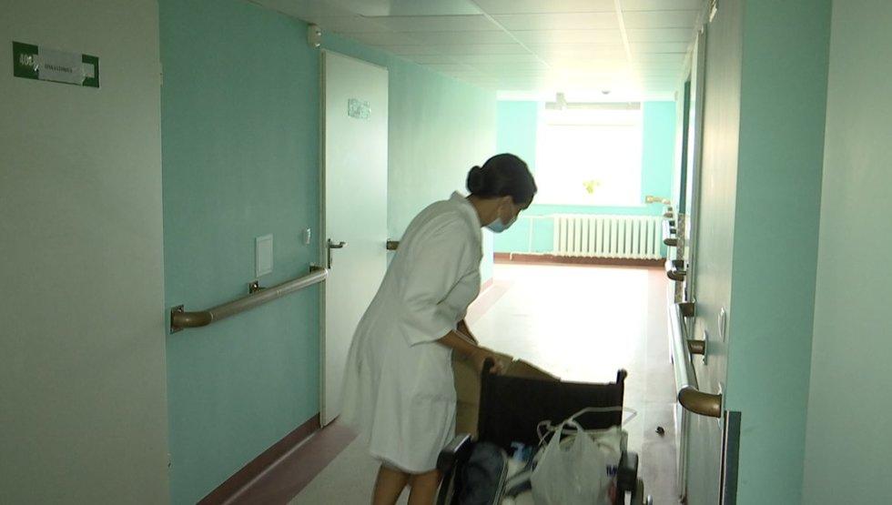 Kėdainių ligoninės paciento noras rūkyti palatoje vos nesibaigė tragedija
