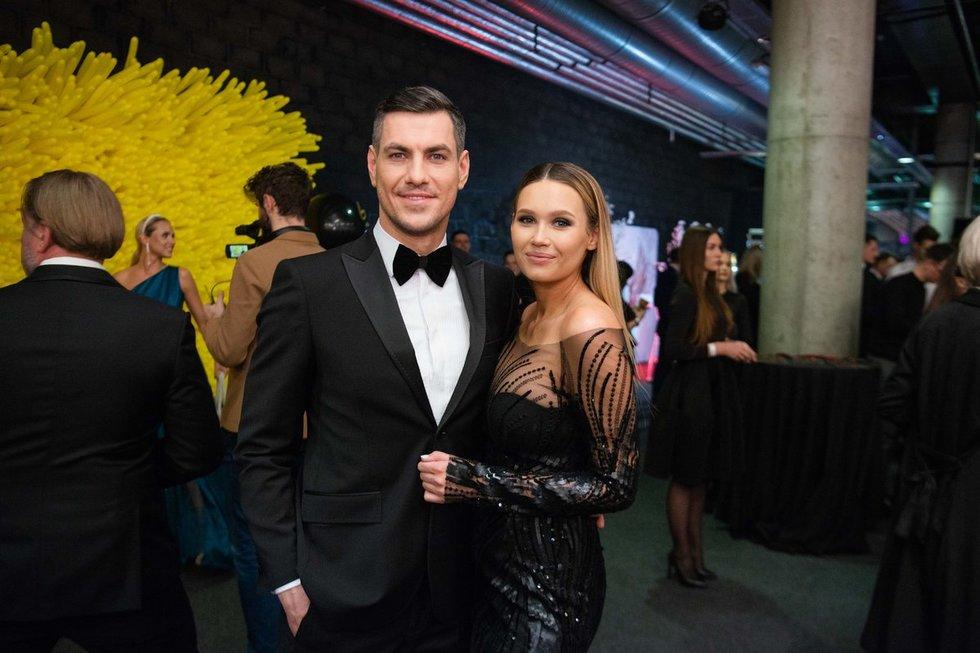 Justinas Jankevičius su Greta