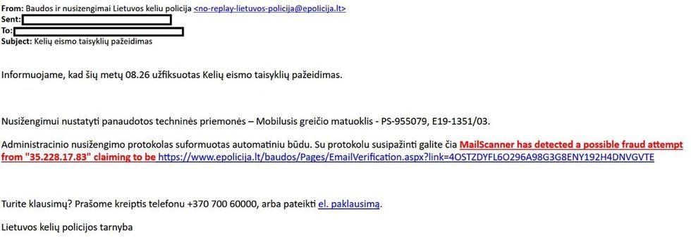 "(nuotr. Lietuvos policija/""Facebook"")"