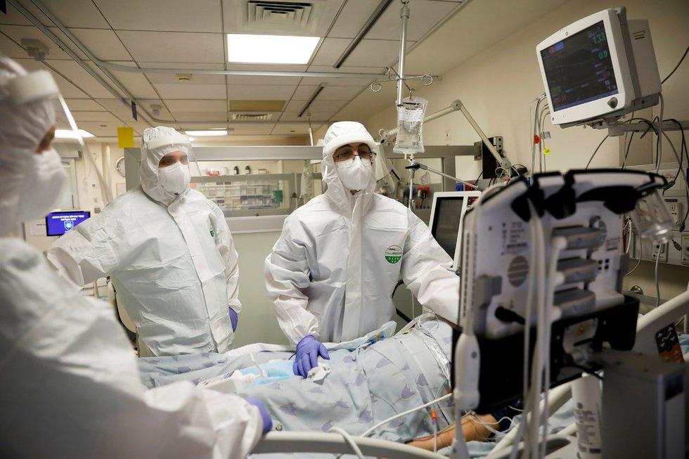 Koronavirusas plinta