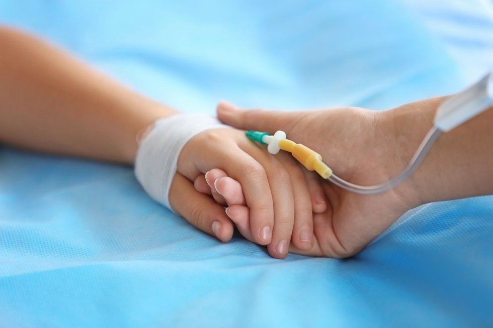 Vaikas ligoninėje