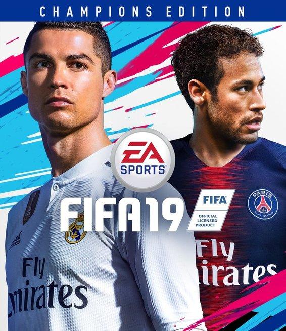 """""""FIFA 19"""" žaidimo viršelis (nuotr. Organizatorių)"""