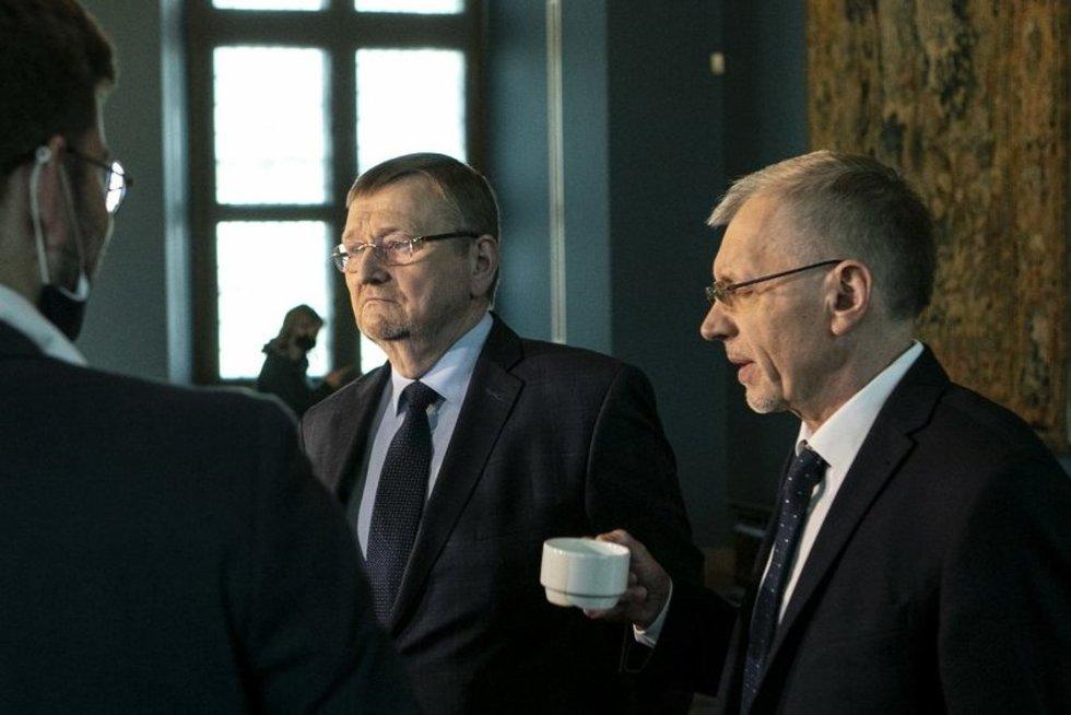 Gediminas Kirkilas ir Juozas Bernatonis (Paulius Peleckis/Fotobankas)