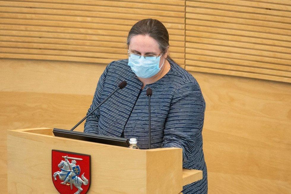 Agnė Širinskienė (nuotr. Fotodiena/Justino Auškelio)