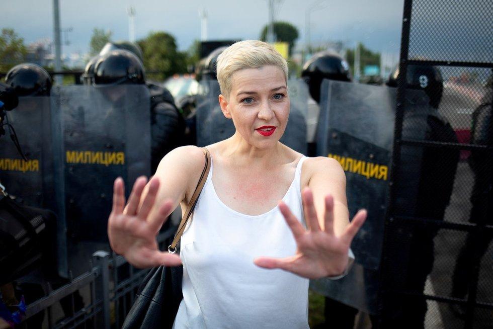 Marija Kalesnikava: moteris, kuri griauna Kremliaus ir Minsko planus (nuotr. SCANPIX)
