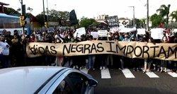 Brazilijoje masiniai protestai prieš pareigūnų žiaurumą ir rasizmą: tūkstančiai žmonių išėjo į gatves