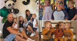 Klaipėdiečių šeimoje karaliauja trynukai: gydytojai porai siūlė pasilikti tik vieną