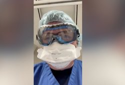 Medikas parodė paskutines Covid-19 paciento akimirkas: prašo tik vieno