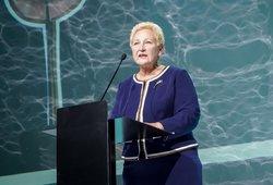 Konservatorei Degutienei paprašius, jai siūloma skirti pirmojo laipsnio valstybinę pensiją