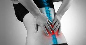 Nugaros skausmas (nuotr. 123rf.com)