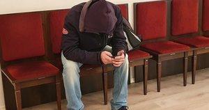 Aleksandras Lebedevas nuteistas kalėti septynerius metus ir du mėnesius (nuotr. Broniaus Jablonsko)