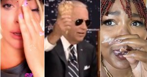 Lady Gaga, Joe Biden, Lizzo (tv3.lt fotomontažas)