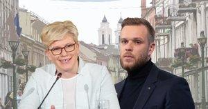 Ingrida Šimonytė. Gabrielius Landsbergis (tv3.lt fotomontažas)