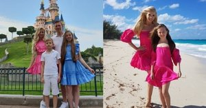 Ingos Stumbrienės šeima (tv3.lt fotomontažas)