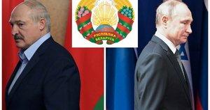Baltarusija staiga sugalvojo išmesti Rusiją iš herbo (nuotr. SCANPIX) tv3.lt fotomontažas