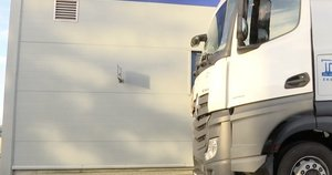 Sunkvežimis (nuotr. stop kadras)