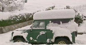 Sniegas (nuotr. stop kadras)