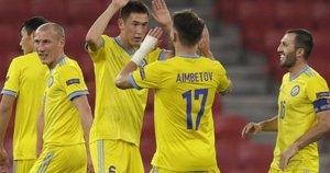 Kazachstano rinktinė. (nuotr. SCANPIX)