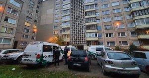 Kraupus nusikaltimas sostinėje: kraujo baloje rasta nužudyta moteris (nuotr. Bronius Jablonskas/TV3)