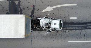Autostradoje prie Vilniaus žuvo 18-metis vairuotojas (nuotr. Broniaus Jablonsko)