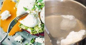 Parodė, kaip išvirti tobulą kiaušinį be lukšto