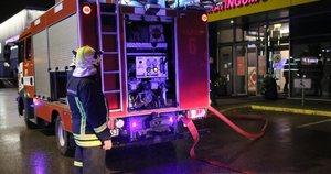 Sporto klube Vilniuje kilo gaisras (nuotr. Broniaus Jablonsko)