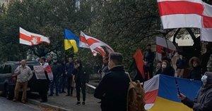 Protestai Baltarusijoje (nuotr. stop kadras)