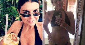 Moteris liko pasibaisėjusi, kai jos daugiabučių namų komplekse buvo įvestos taisyklės dėl bikinių dėvėjimo (nuotr. Instagram)