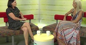 Renata Šakalytė-Jakovleva ir Ineta Stasiulytė (nuotr. stop kadras)