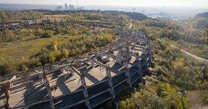 Seni griaučiai turėtų būti išgriauti 2019 m., čia bus pastatytas nacionalinis stadionas ir multifunkcinis kompleksas (nuotr. tv3.lt)