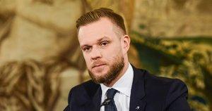 Gabrielius Landsbergis (nuotr. Fotodiena/Justino Auškelio)
