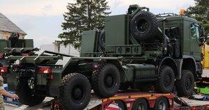 Lietuvą pasiekė iš Norvegijos įsigytos oro gynybos sistemos (nuotr. Lietuvos kariuomenė)