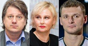Saulius Čaplinskas, Rūta Janutienė ir Artūras Jomantas (tv3.lt fotomontažas)