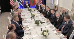 NATO valstybių susitikimas (nuotr. stop kadras)