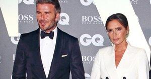 Victoria ir Davidas Beckhamai (nuotr. SCANPIX)