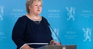 Erna Solberg (nuotr. SCANPIX)