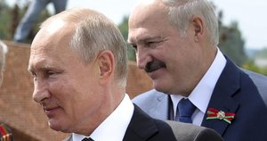 Putinas prabilo apie Baltarusiją: paaiškino, kokiu atveju įvestų kariuomenę (nuotr. SCANPIX)