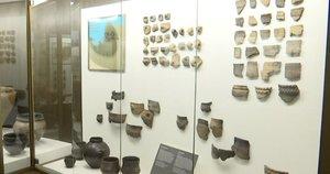Unikali paroda: kaip prieš 5 tūkst. metų save vaizdavo lietuviai, kokius įrankius naudojoir ką garbino (nuotr. stop kadras)