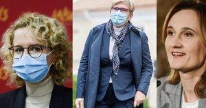Aušrinė Armonaitė, Ingrida Šimonytė, Viktorija Čmilytė-Nielsen (tv3.lt koliažas)