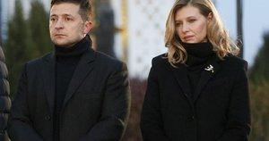 Ukrainos prezidentas su žmona (nuotr. Scanpix)