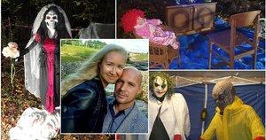 Kėdainiškių pora pasiūlė Helovino pramogą  (tv3.lt fotomontažas)