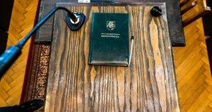 Baudžiamasis kodeksas (nuotr. Fotodiena/Justino Auškelio)