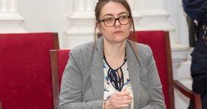 Už nužudymą teisiama Ignė Šakalienė (nuotr. Broniaus Jablonsko)