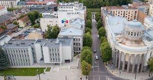 Kaunas tęsia centrinių gatvių kompleksinį atnaujinimą: startuoja remonto darbai L. Sapiegos gatvėje (nuotr. Kauno savivaldybės)