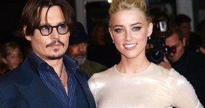 Johnny Depp ir Amber Heard (nuotr. SCANPIX)
