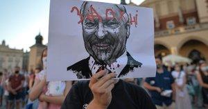 Protestai Baltarusijoje (nuotr. SCANPIX)