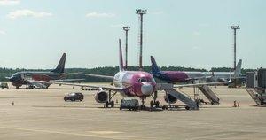 Vilniaus oro uostas. Fotodiena/Justinas Auškelis