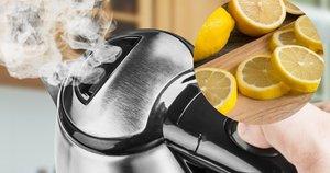 Į virdulį įdėkite citrinos skiltelių: pašalins visus nešvarumus (nuotr. Shutterstock.com)
