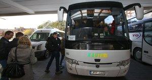 Autobusas (nuotr. Fotodiena.lt/Roko Lukoševičiaus)